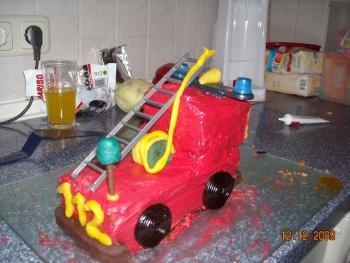 Meine Kinder Kuchen Feuerwehr Kafer Schiff 112 Bob D Baum