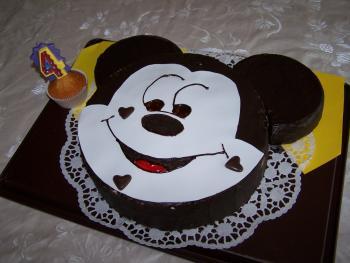 Ein Micky Maus Kuchen War Gewunscht Motivtorten Fotos Forum
