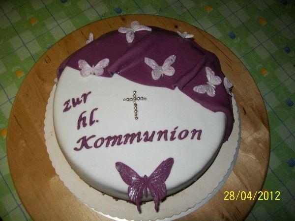 Schmetterling Kommuniontorte Motivtorten Fotos Forum Chefkoch De