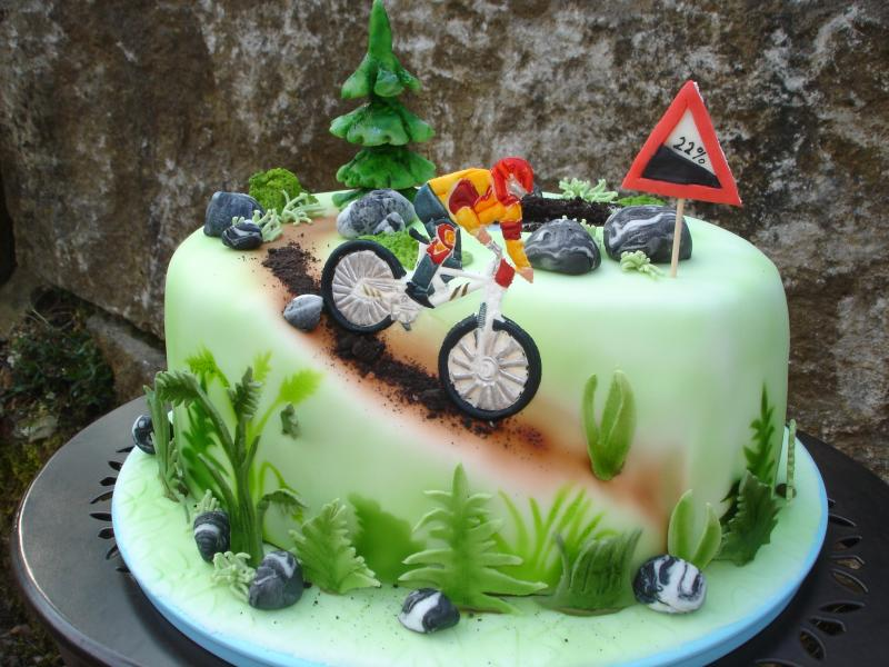 Shinybeauty Kuchen Topper Fahrrad Geburtstag Kuchen Dekorationen