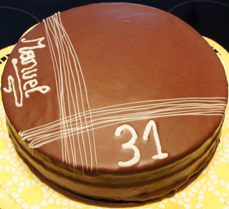 Kuchen mit schokoglasur lagern