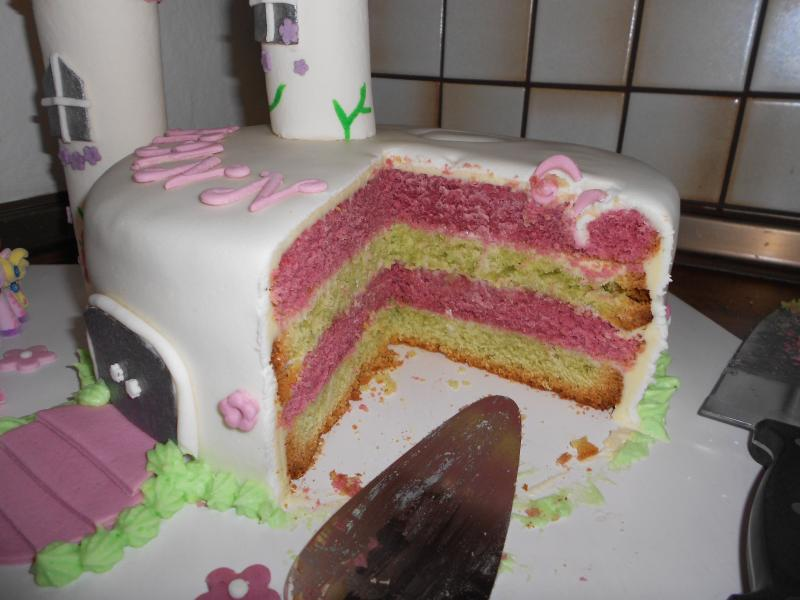 Filly Schloss Torte 3 Geburtstag Maus 3217388041