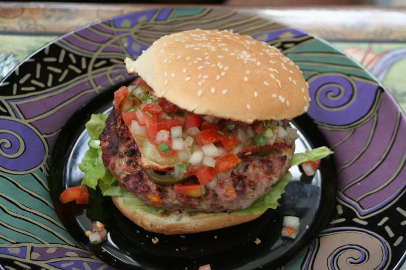 Burgerparty feuervogel 216214100