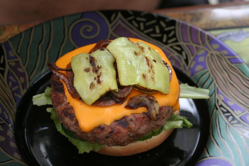 Burgerparty feuervogel 830669796