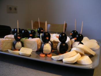 Pinguine Trauben Frischkäse Mega niedlich einfach 3433488348