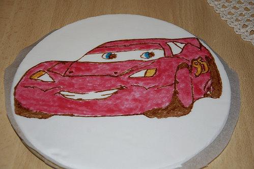 Tortenaufleger auto