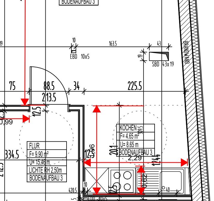 Offene Küche herausfordernder Grundriss 3111768921