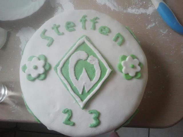 Werder Bremen Torte Motivtorten Fotos Forum Chefkoch De