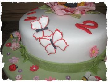 Biene Maja-Torte für Enkelin