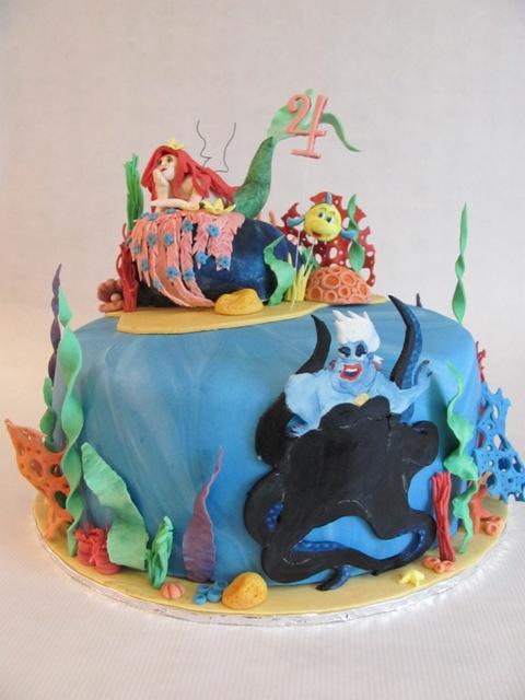 Arielle die meerjungfrau torte rezept