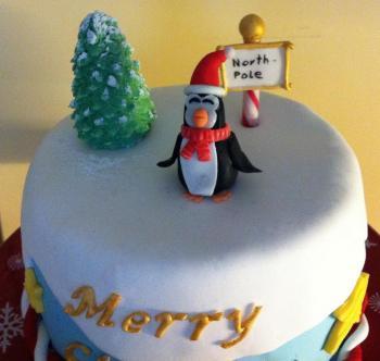 Cake Art Decor Zeitschrift : Frohe Weihnachten vom Nordpol Motivtorten Fotos Forum ...