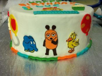 Torte Zum 5 Geburtstag Mit Conni Und Der Maus Motivtorten Fotos
